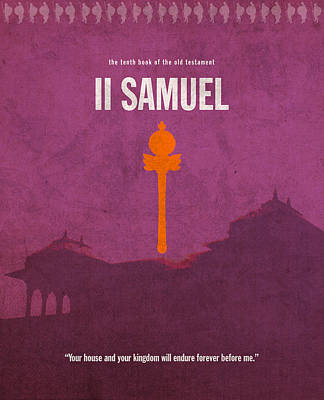 Second Samuel Books Of The Bible Series Old Testament Minimal Poster Art Number 10 Poster by Design Turnpike