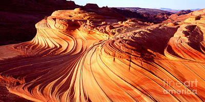 Second Wave In The North Coyote Buttes Poster