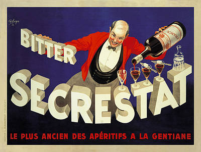 Secrestat 1935 Poster by Robys