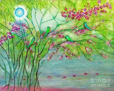 Secret Paradise Inner Bliss Poster by Anjali Vaidya