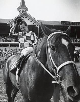 Secretariat Vintage Horse Racing #04 Poster