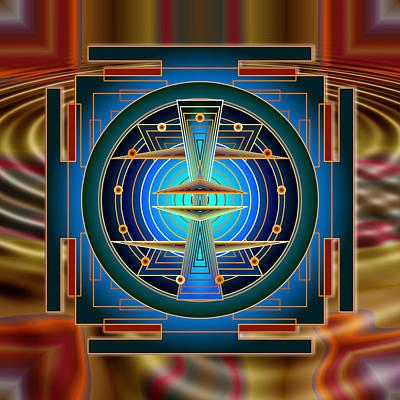 Secrets Of Mandala Time Poster by Mario Carini