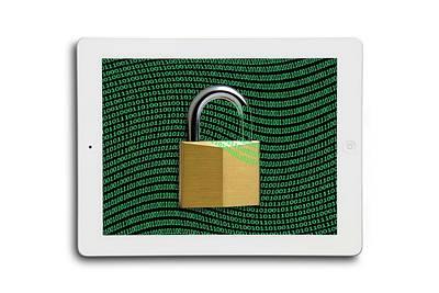 Secure Tablet Computer Poster