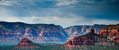 Sedona Arizona Panorama Poster