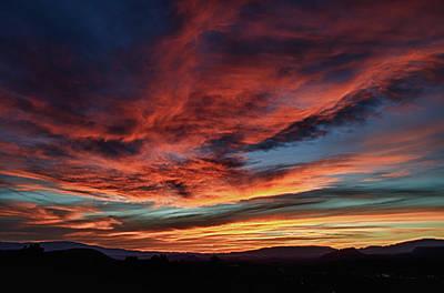 Sedona Az Sunset 1 Poster