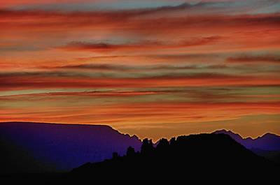 Sedona Az Sunset 2 Poster