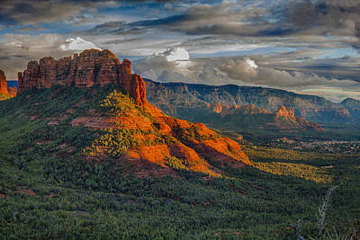 Sedona Magic Poster by Shanna Gillette