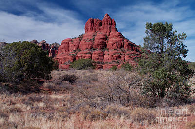 Sedona Red Rock Formations Poster