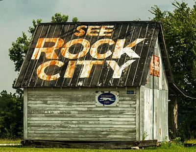 See Rock City Advertisement Poster by Douglas Barnett