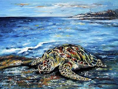 See Weed Turtle Poster