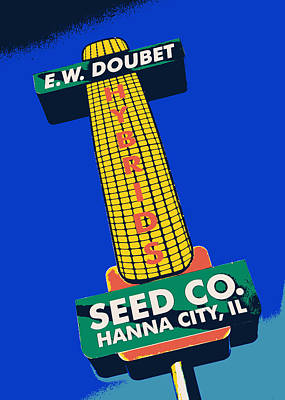 Seed Company Sign 1.3 Poster