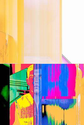 Seeking Encounter Number Eight  Digital Art By Maria Lankina Poster