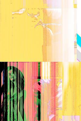 Seeking Encounter Number Five Digital Art By Maria Lankina Poster by Maria  Lankina