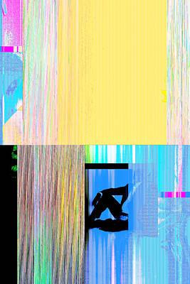 Seeking Encounter Number Nine Digital Art By Maria Lankina Poster
