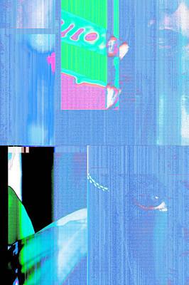 Seeking Encounter Number One  Digital Art By Maria Lankina Poster by Maria  Lankina