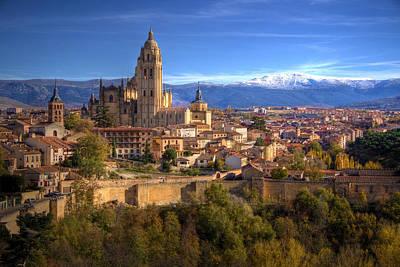 Segovia From The Alcazar Poster