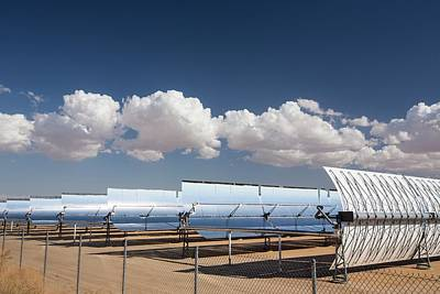 Segs Solar Power Plant Poster by Ashley Cooper