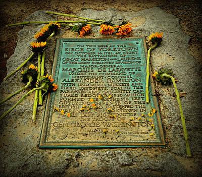 Seige Of Yorktown Memorial Poster by Stephen Stookey