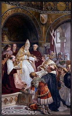 Seitz Ludovico, Pope Benedict Xi Poster by Everett