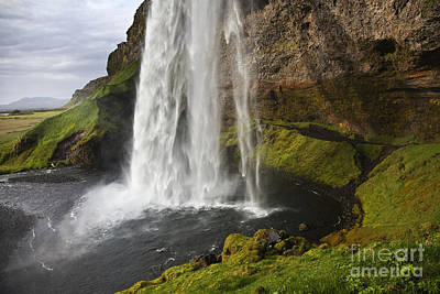 Selandsfoss In Iceland Poster