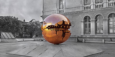 Selective Sphere Poster by Betsy Knapp
