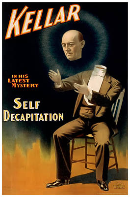 Self Decapitation Poster