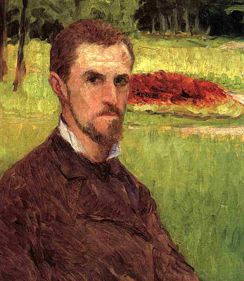 Self Portrait Poster by Gustave Caillebotte