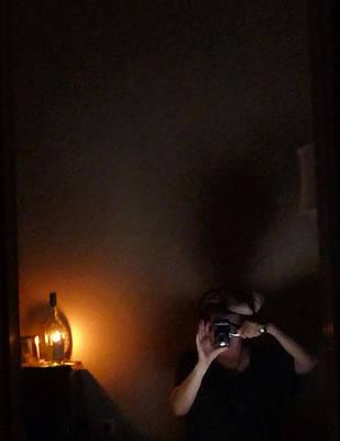 Self Portrait In Ancient Lighting Poster by Carolina Liechtenstein