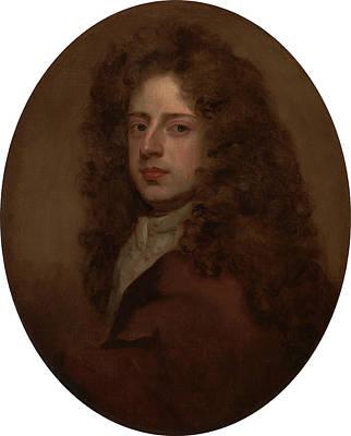 Self-portrait, Sir Godfrey Kneller, 1646-1723 Poster