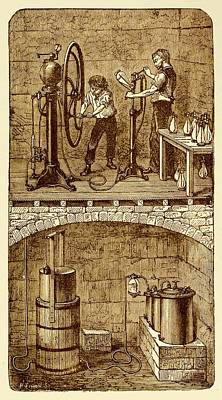 Selzer Water Manufactuary Poster by David Parker