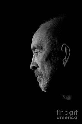 Senior In Depression Poster by Aleksey Tugolukov