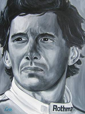 Senna Daze Poster