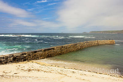 Sennen Cove Cornwall Poster by Terri Waters