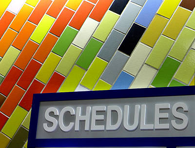 Septa Schedules Poster by Richard Reeve
