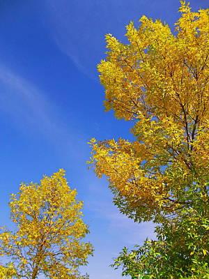 September Sky Poster