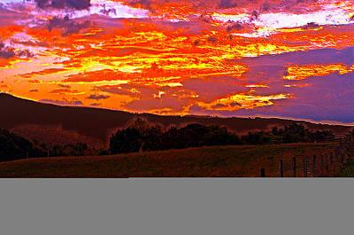 September Smokies Sunrise Poster by Jeff Kurtz