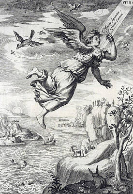 Seraphim, Heavenly Counselors Poster by Folger Shakespeare Library