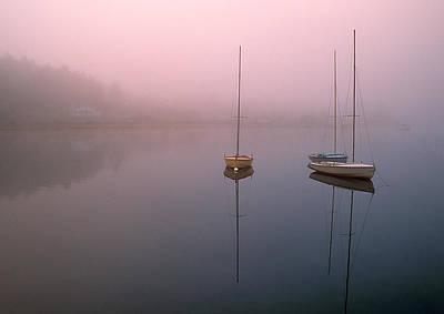 Serene Morning Poster by Inge Riis McDonald