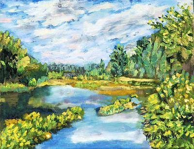 Serene Pond Poster