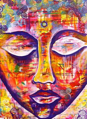 Serenity Buddha Poster