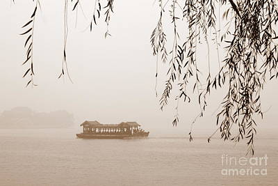 Serenity In Sepia Poster by Carol Groenen