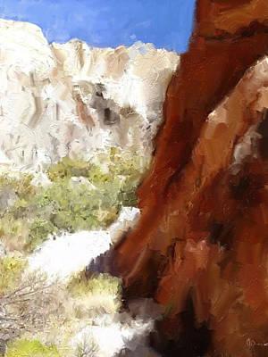Serenity In The Desert Poster
