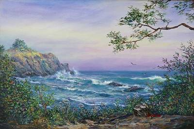 Serenity Seascape  Poster