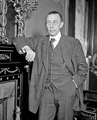 Sergei Rachmaninoff Poster by Mountain Dreams