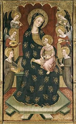Serra, Pere 1343-1406. Madonna Poster by Everett