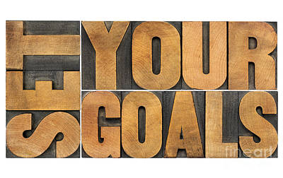 Set Your Goals  Poster