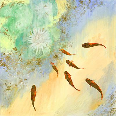 Sette Pesciolini Verdi Poster
