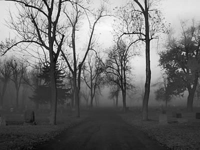 Settling Fog Poster