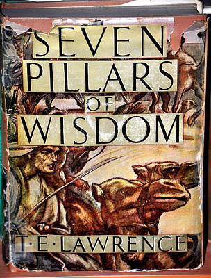 Seven Pillars Of Wisdom Lawrence Poster by Jay Milo