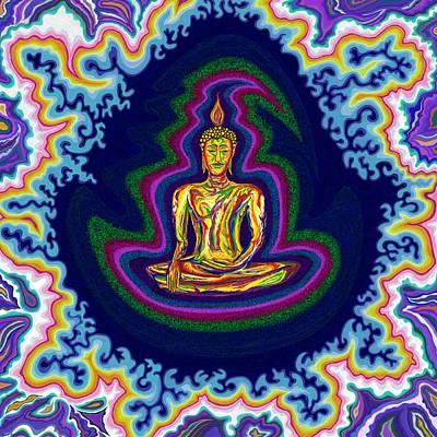Seventh Heaven Buddha Poster by Robert SORENSEN
